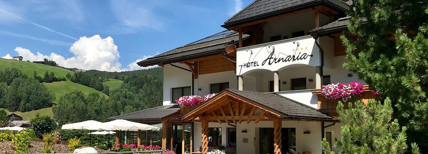 Hotel Arnaria – Hotel a Ortisei in un ambiente tranquillo